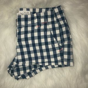 Aeropostale Checkered Short Shorts